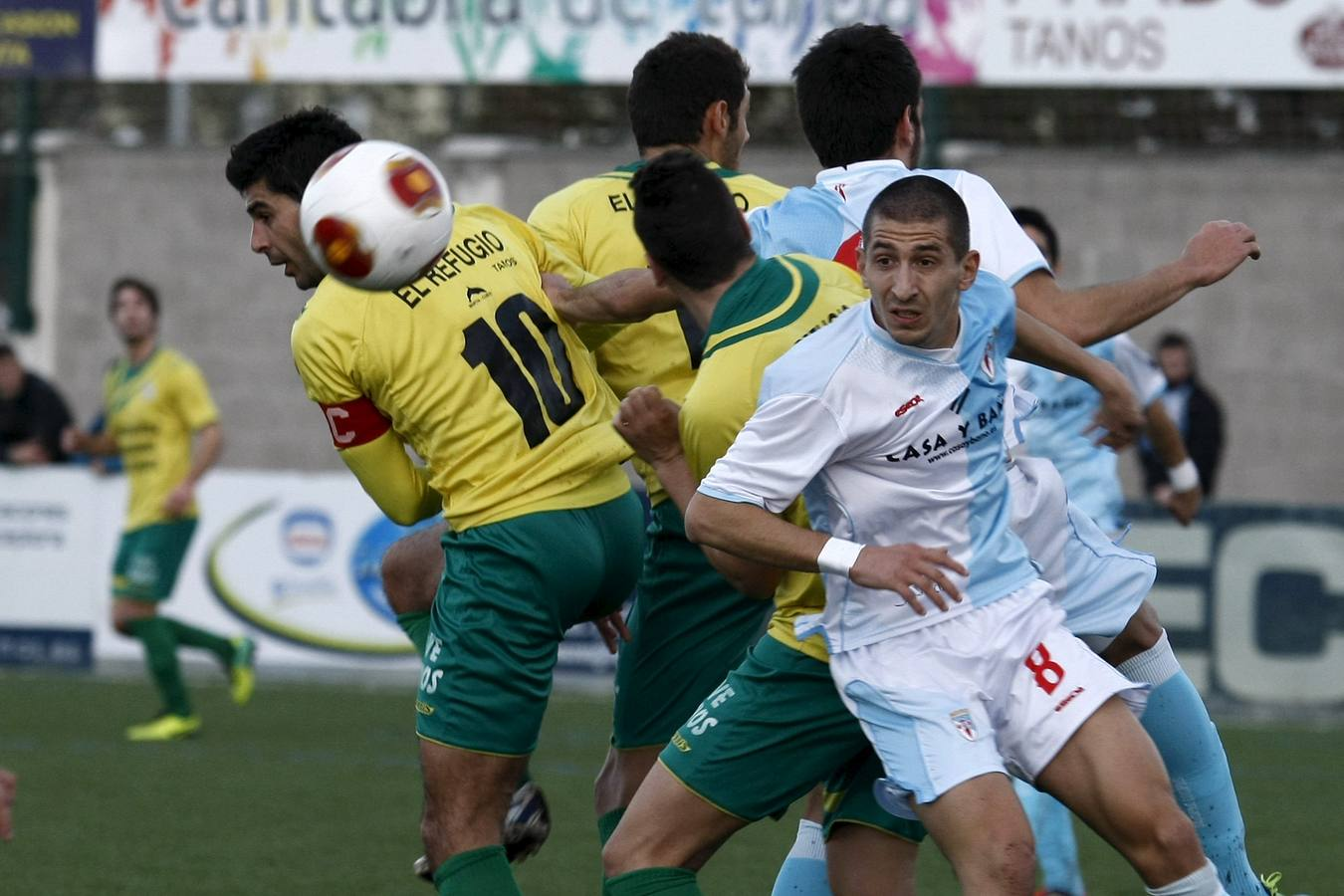 Tropezón 4 - Compostela 3