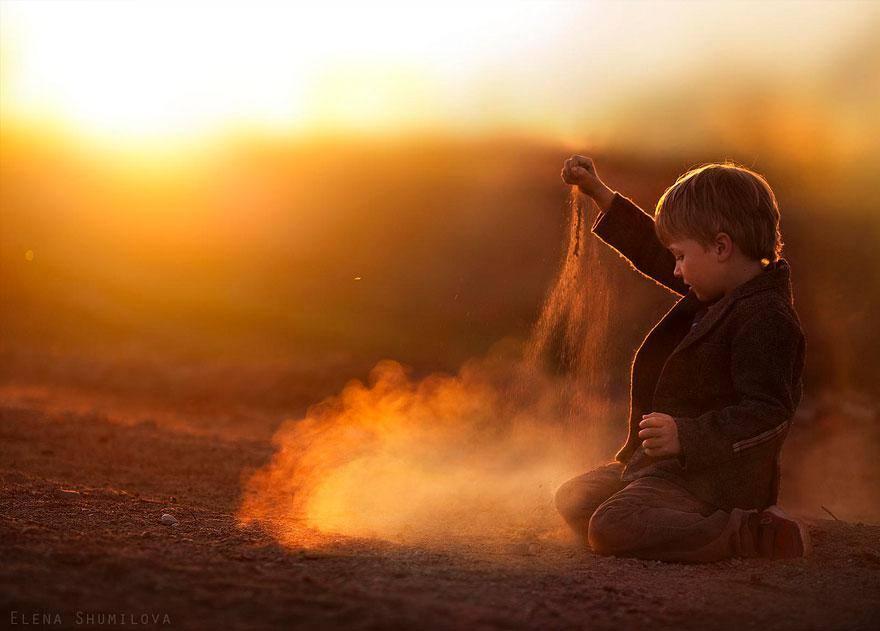 Las mágicas fotografías de Elena Shumilova