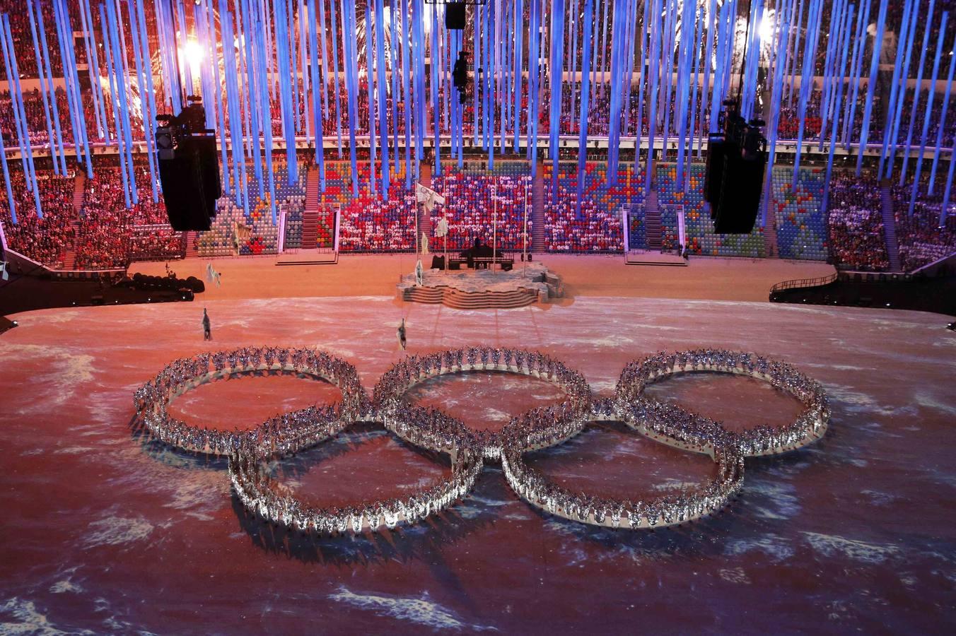 Clausura de los Juegos Olímpicos de Sochi